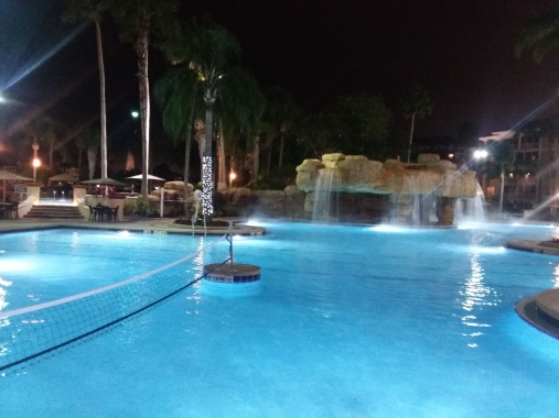 The resort includes three well-kept pool areas.