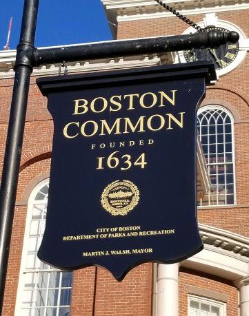 Scenes from Boston Common